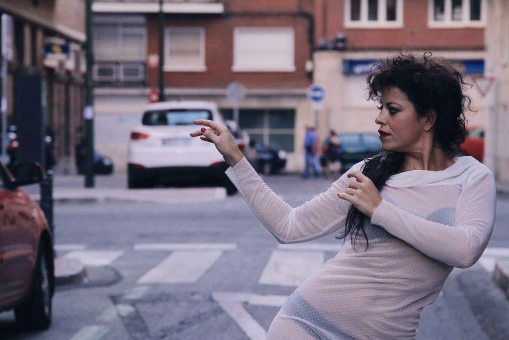 Performer Lucía Muñoz